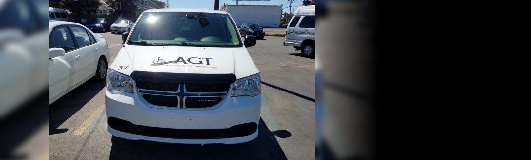 AGT Van Front View