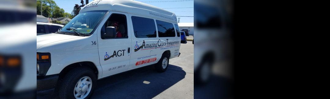 AGT ambulance van
